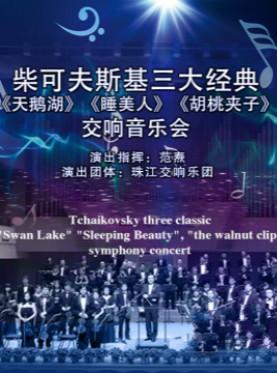 柴可夫斯基三大经典《天鹅湖》《睡美人》《胡桃夹子》交响音乐会—广州站