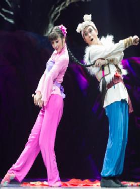 东方歌舞团舞剧《兰花花》