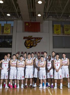 2016-2017赛季CBA常规赛东莞银行主场(寮步)