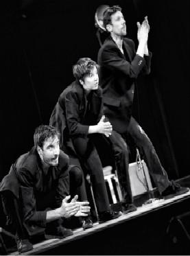 中法文化之春 跳动的旋律 法国SOLEO创意幽默身体打击秀