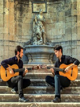 音乐后花园 今夜无人入睡 意大利吉他二重奏